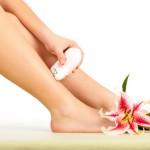 Epilating Legs