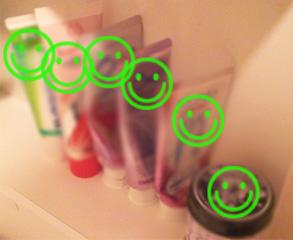我が家の歯磨き粉