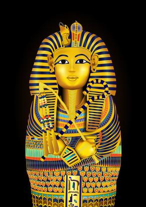 エジプシャン柄