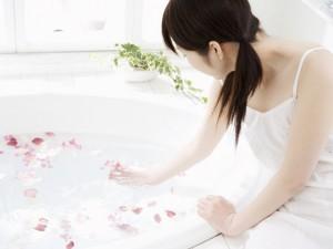 お風呂ヨガ