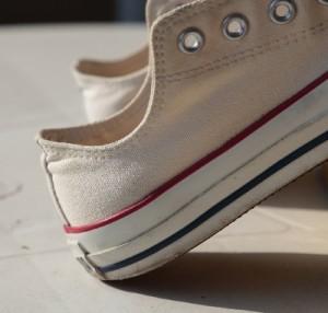 布製の靴の手入れ方法