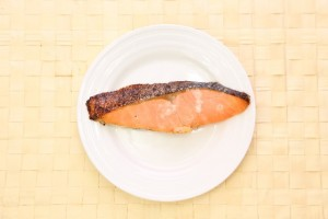 鮭のアクアパッツァ