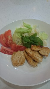 鶏胸肉のバルサミコ酢ソース