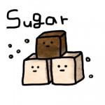 甘納豆入り黒糖かん